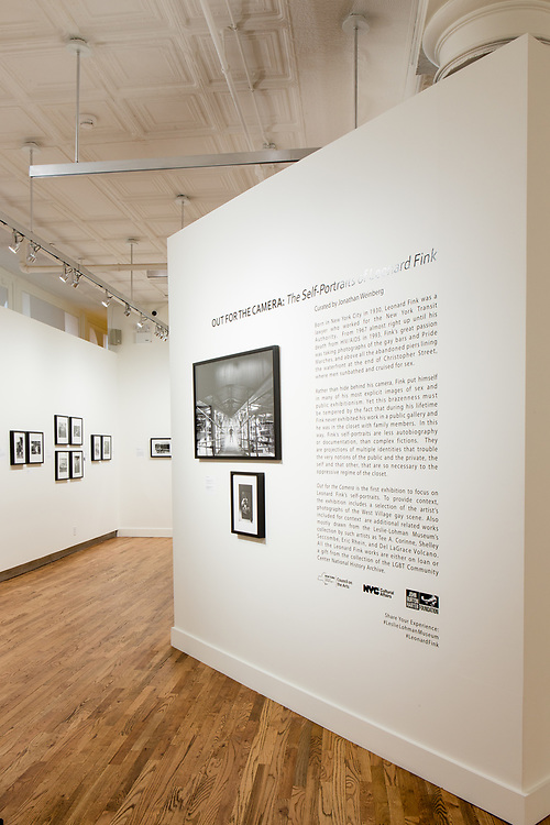 """""""Out for the Camera: the self-portraits of Leonard Fink"""" at the Leslie-LohmanMuseum of Gay and Lesbian Art."""