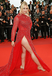 """""""La Plus Belles Annees d'une Vie"""" - The 72nd International Cannes Film Festival. 18 May 2019 Pictured: Iskra Lawrence. Photo credit: MEGA TheMegaAgency.com +1 888 505 6342"""