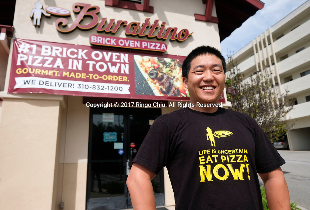 Lee Kim, co-owner of Burattino in Rancho Palos Verdes. (Photo by Ringo Chiu/PHOTOFORMULA.com)<br /> <br /> Usage Notes: This content is intended for editorial use only. For other uses, additional clearances may be required.