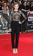 April 26, 2016 - Emily Vancamp attending 'Captain America: Civil War' European Film Premiere at Vue Westfield in London, UK.<br /> ©Exclusivepix Media
