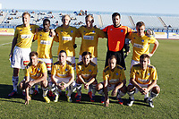 Fotball , 10. januar 2013 , Privatkamp<br /> Strømsgodset - HJK Helsinki<br /> Maspalonas<br /> lagbilde Helsinki<br /> teampicture