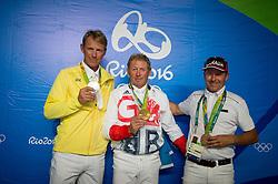 Fredricson Peder, S, Lamaze Eric, CAN<br /> Olympic Games Rio 2016<br /> © Hippo Foto - Dirk Caremans<br /> 19/08/16