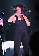 "The grand finale , after performing her last song Miss Ross struts back on stage wearing only a black tank top and black tights. Legendary singer, songwriter and performer Diana Ross brings down the house at her opening show of her 2011 ""More Than Yesterday"" North America Tour Friday  Feb. 25,2011 night in Philadelphia Mississippi at the  Pearl River Casino in their newly renovated 5000 seat ""Arena"". "" Miss Ross""  opened the show with "" I'm Coming OUt "" and continued to thrill for the next 90 minutes and 5 costume changes. Photo©Suzi Altman"