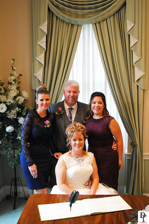 Portsmouth Registry office Wedding by David Timpson photography with Ann-Marie & David Packham on 20th Sept 2017