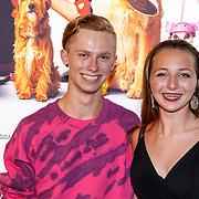NLD/Amsterdam/20180820 - Premiere Dog Days, Casper Feddema en Sara Dol