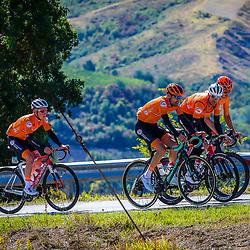 Sportfoto archive 2020<br />World Championships cycling Imola<br />Dutch team Tom Dumoulin, Pieter Weening, Dylan van Baarle, Sam Oomen