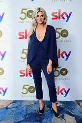 Sarah Jayne Dunn attending the TRIC Awards 2019 50th Birthday Celebration held at the Grosvenor House Hotel, London.