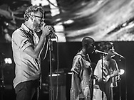American indie-Rock band The National at Jahrhunderthalle in Frankfurt