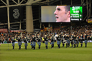 Clew Bay Pipe Band at the Aviva Stadium 12th October 2012
