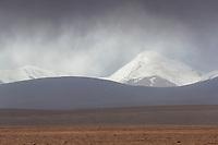 Landscape of the Tibetan Plateau, Yushu, Haixi, Qinghai, China