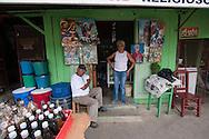 Botanic and religious shop on Mao Valverde, Dominican Republic