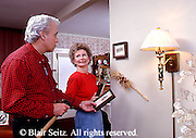 Active Aging Senior Citizens, Retired, Activities, Elderly Happily Retired at Home, Relaxed in Home Elderly Couple Work Home Decor, Loving Couples, Staying Young