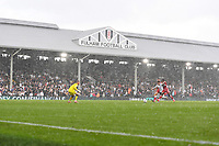 Football - 2021 / 2022  Sky Best EFL  Championship - Fulham vs Middlesbrough - Craven Cottage - Sunday 8th August 2021<br /> <br /> A general view as the rain comes down heavily.<br /> <br /> COLORSPORT/Ashley Western