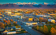 Anchorage (officially called the Municipality of Anchorage) is a unified home rule municipality in the southcentral part of the U.S. state of Alaska. It is the northernmost city in the United States with more than 100,000 residents and the largest community in North America north of the 60th parallel. With an estimated 298,610 residents in 2012 (and 380,821 residents within its Metropolitan Statistical Area, which combines Anchorage with the neighboring Matanuska-Susitna Borough), it is Alaska's most populous city and constitutes more than 40 percent of the state's total population; among the 50 states, only New York has a higher percentage of residents who live in the state's most populous city.