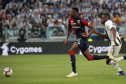 October 20, 2018 - Turin, Turin, Italy - Cristhian Kouame #11 of Genoa CFC in action during the serie A match between Juventus FC and Genoa CFC at Allianz Stadium on October 20, 2018 in Turin, Italy. (Credit Image: © Giuseppe Cottini/NurPhoto via ZUMA Press)