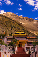 Samstanling monastery, Nubra Valley, Ladakh, Jammu and Kashmir State, India.