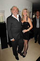 ROBERT TCHENGUIZ and his sister LISA TCHENGUIZ at the launch party for 'Promise', a new capsule ring collection created by Cheryl Cole and de Grisogono held at Nobu, Park Lane, London on 29th September 2010.
