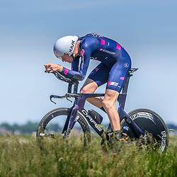 EMMEN (NED) June 16: <br />CYCLING <br />Dutch Nationals Time Trail men U23 Daan Hoole