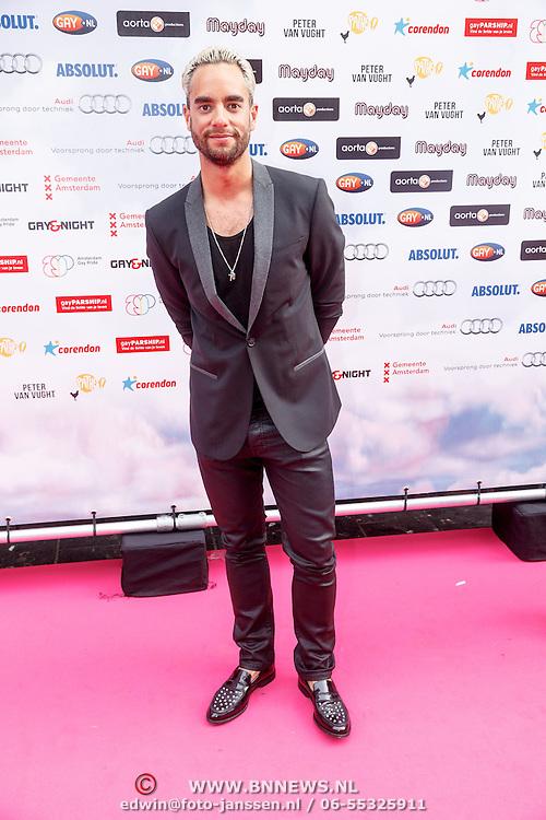 NLD/Amsterdam/20150629 - Uitreiking Rainbow Awards 2015, Freek Bartels