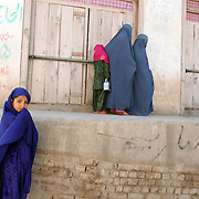 The village of Nari to give a class to Afghan women on setting up water filtration systems, Kunar Province of Eastern Afghanistan.