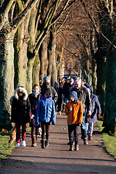 Ecclesfield Park day after Derbyshire police issue fines to 2 women for driving five miles to exercise<br /> <br /> 09 January 2020<br /> <br /> www.pauldaviddrabble.co.uk<br /> All Images Copyright Paul David Drabble - <br /> All rights Reserved - <br /> Moral Rights Asserted -