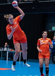 Debbie Bont of Netherlands in action during the Women's friendly match between Netherlands and Slovenia at De Maaspoort on march 19, 2021 in Den Bosch, Netherlands (Photo by RHF Agency/Ronald Hoogendoorn)
