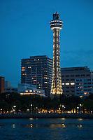 Yokohama Marine Tower overlooking Yamashita Park and Yokohama Port is not only the symbol of Yokohama but serves as the tallest lighthouse in the world.