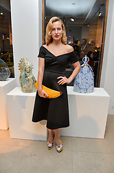 CHARLOTTE DELLAL at a private view of Bright Young Things held at the David Gill Gallery, 2-4 King Street, London on 19th April 2016.