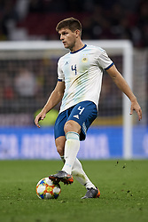 March 22, 2019 - Madrid, Madrid, Spain - Walter Kannemann (Gremio) of Argentina in action during the international friendly match between Argentina and Venezuela at Wanda Metropolitano Stadium in Madrid, Spain on March 22 2019. (Credit Image: © Jose Breton/NurPhoto via ZUMA Press)