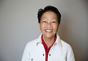 Happy Senior Asian Woman