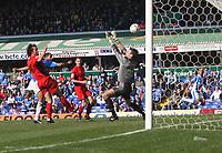 Photo: Mark Stephenson.<br /> Birmingham City v Coventry City. Coca Cola Championship. 01/04/2007.Birmingham's DJ Campballfires in his secound goal