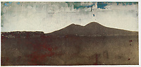 Distant Desert town abstract art. <br /> Vesuvius from Mergellina. <br /> <br /> Public Domain Remix<br /> <br /> http://www.metmuseum.org/art/collection/search/286574<br /> https://creativecommons.org/publicdomain/zero/1.0<br /> 2005.100.570   <br /> <br /> Artist<br /> Giacomo Caneva  (1813–1865) Blue pencil.svg wikidata:Q3105035<br /> Title<br /> [Vesuvius from Mergellina]<br /> Description<br /> Photograph; Photographs<br /> Datecirca 1855<br /> MediumSalted paper print from paper negative<br /> Dimensions<br /> Image: 13.1 x 27.9 cm (5 3/16 x 11 in.)<br /> Mount: 26.7 x 43.5 cm (10 1/2 x 17 1/8 in.)<br /> Collection<br /> Metropolitan Museum of Art  Blue pencil.svg wikidata:Q160236<br /> Current location<br /> Photographs<br /> Accession number<br /> 2005.100.570<br /> Credit lineGilman Collection, Purchase, Mrs. Walter Annenberg and The Annenberg Foundation Gift, 2005