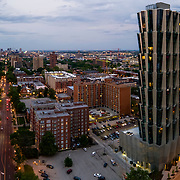 One Hundred Above The Park in St Louis' Central West End, by architect Jeanne Gang