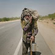 Vagabond on a  spiritual quest.<br /> Uttar Pradesh Province.