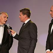 NLD/Amsterdam/20110515 - Coiffure awards 2011, Ivar de Jonge, Martijn Krabbe en Robert van der Sanden