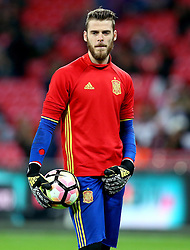 David de Gea of Spain - Mandatory by-line: Robbie Stephenson/JMP - 15/11/2016 - FOOTBALL - Wembley Stadium - London, United Kingdom - England v Spain - International Friendly