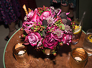 spotted at Bloom & Wild's exclusive event at 5 Hertford Street last night. 5 September 2017. The event was announcing the new partnership between the UK's most loved florist, Bloom & Wild and British floral design icon Nikki Tibbles Wild at Heart. Cocooned in swaths of vibrant Autumn blooms, guests enjoyed floral-inspired cocktails from Sipsmith and bubbles from Chandon, with canapés put on by 5 Hertford Street. Three limited edition bouquets from the partnership can be bought through Bloom & Wild's website from the 1st September.  bloomandwild.com/WAH