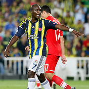 Fenerbahce's Moussa Sow during their UEFA Champions League Play-Offs, 2nd leg soccer match Fenerbahce between Spartak Moscow at Sukru Saracaoglu stadium in Istanbul Turkey on Wednesday 29 August 2012. Photo by TURKPIX