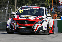 June 23, 2018 - Vila Real, Vila Real, Portugal - Mato Homola from Slovakia in PEUGEOT 308TCR of DG Sport Competition during the Race 1 of FIA WTCR 2018 World Touring Car Cup Race of Portugal, Vila Real, June 23, 2018. (Credit Image: © Dpi/NurPhoto via ZUMA Press)