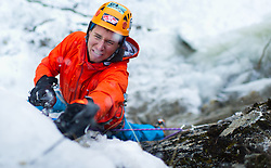 THEMENBILD - Eisklettern in Osttirol. Aufgenommen am 30.01.2016 in Matrei in Osttirol, Österreich // Ice climbing in Tyrol. Austria on 2016/01/30. EXPA Pictures © 2016, PhotoCredit: EXPA/ Michael Gruber