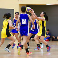 Republic Polytechnic, Thursday, November 24, 2016 —Ngee Ann Polytechnic swept past Singapore Polytechnic 69-20 to win their fourth POL-ITE Netball Championship in a row.
