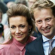 NLD/Zeist/20190430 - Inloop verjaardag Pieter Van Vollenhoven, Floris en partner Aimee Sohngen