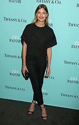 April 19, 2017 - New York, New York, U.S. - Model CONSTANCE JABLONSKI attends the Tiffany & Co. and Harper's Bazaar 150th Anniversary Event held at the Rainbow Room. (Credit Image: © Nancy Kaszerman via ZUMA Wire)
