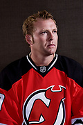 Martin Brodeur, goaltender for the New Jersey Devils, poses for a portrait in a hotel Wednesday, September 3, 2008. -- New York, NY, U.S.A  Photo by Emile Wamsteker, Freelance