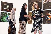 """Staatsbezoek van Koning Willem Alexander en  Koningin Maxima aan Indonesie Dag 1 Java, Bezoek van de  fototentoonstelling 'Innovation' in het Erasmushuis ////  State visit of King Willem Alexander and Queen Maxima to Indonesia Day 1 Java, Visit of the """"Innovation"""" photo exhibition at the Erasmushuis"""