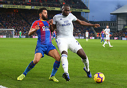 December 26, 2018 - London, England, United Kingdom - London, England - 26 December, 2018.Crystal Palace's Andros Townsend tussle with Cardiff City's Sol Bamba.during English Premier League between Crystal Palace and Cardiff City at Selhurst Park stadium , London, England on 26 Dec 2018. (Credit Image: © Action Foto Sport/NurPhoto via ZUMA Press)