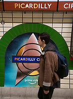 Star Trek: Picard takes over Piccadilly Circus  and renamed Picardilly Circus   for 48 hours with Jean-Luc Picard making space  station announcements to promote the series photo by Brian Jordan