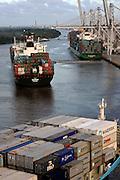 Georgia Ports Authority , Friday, July, 5, 2013, at the Garden City Terminal near Savannah, Ga.  (GPA Photo/Stephen Morton)