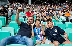 Vasja Ambrozic during football match between National teams of Slovenia and Malta in Round #6 of FIFA World Cup Russia 2018 qualifications in Group F, on June 10, 2017 in SRC Stozice, Ljubljana, Slovenia. Photo by Vid Ponikvar / Sportida