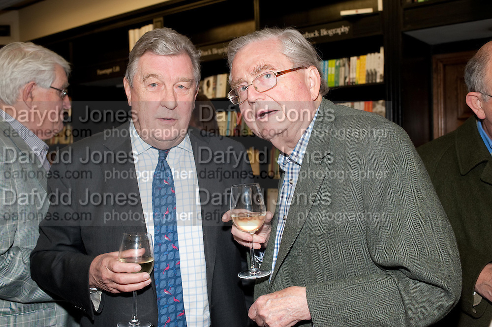 DAVID POTTER; GRAHAM GREENE, Relish: My Life on a Plate by Prue Leith. Hatchards. Piccadilly, London. 14 March 2012.